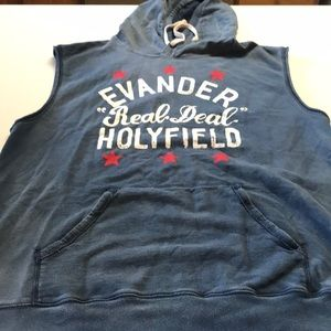 Roots of Fight Evander Holyfield sleeveless